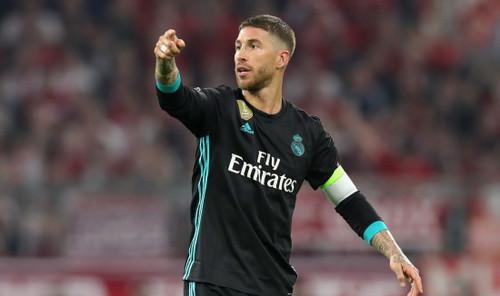 Рамос поднялся на восьмую строчку по количеству матчей за Реал