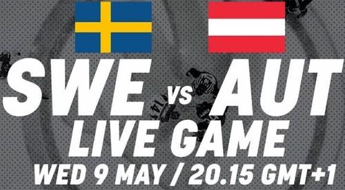 ЧМ-2018. Швеция – Австрия. Смотреть онлайн. LIVE трансляция