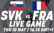 Где смотреть онлайн матч чемпионата мира Словакия – Франция