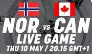 ЧМ-2018. Норвегия – Канада. Смотреть онлайн. LIVE трансляция