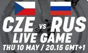 Где смотреть онлайн матч чемпионата мира Чехия – Россия