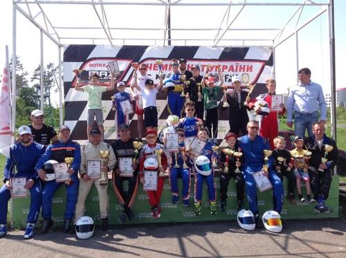 Визначені переможці та призери перших двох етапів Ротакс Україна.
