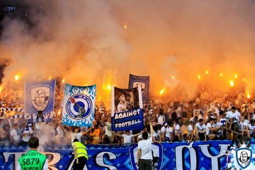 Ультрас Динамо и Шахтера прошли маршем «Против футбола по паспортам»