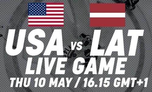 Где смотреть онлайн матч чемпионата мира США – Латвия