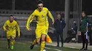 Молодежная сборная Украины выиграла у Шотландии
