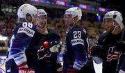 Чемпионат мира по хоккею. США в овертайме победила Латвию