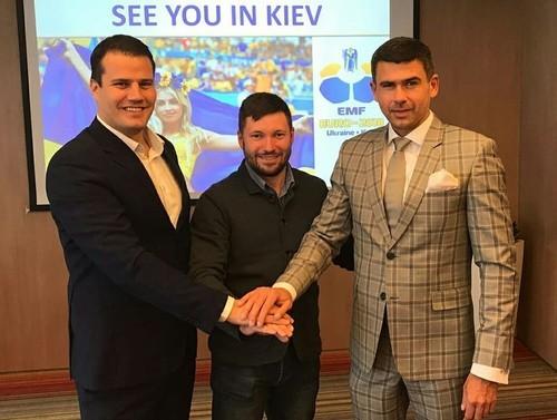 В ФФУ відбудеться жeрeбкування чeмпіонату Європи 2018 з міні-футболу