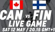 Где смотреть онлайн матч чемпионата мира Канада – Финляндия