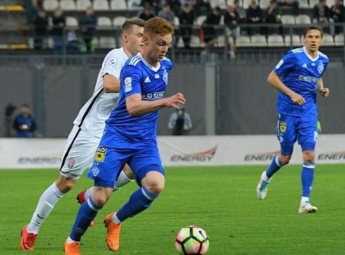 Динамо в Запорожье с минимальным счетом одолело Зарю