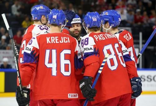 Чемпионат мира по хоккею. Чехия всухую обыграла Францию