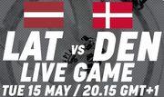 ЧМ-2018.  Латвия – Дания. Смотреть онлайн. LIVE трансляция