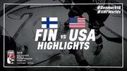 ЧМ-2018.  Финляндия - США - 6:2. Видео голов и обзор матча