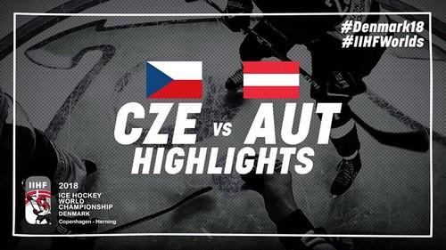 ЧМ-2018. Чехия - Австрия - 4:3 Видео голов и обзор матча