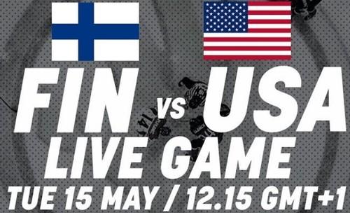 ЧМ-2018.  Финляндия – США. Смотреть онлайн. LIVE трансляция