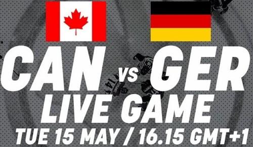 ЧМ-2018.  Канада – Германия. Смотреть онлайн. LIVE трансляция