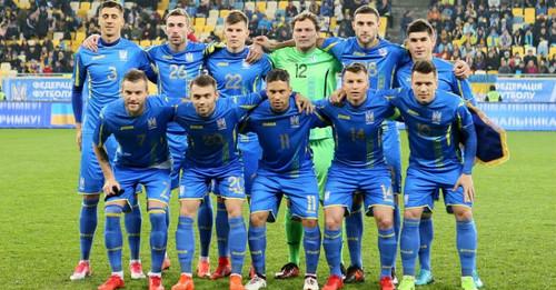 Сборная Украины в ТОП-30 рейтинга ФИФА