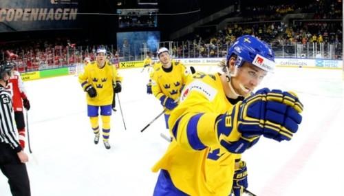 ЧМ-2018 по хоккею. Швеция не без проблем прошла Латвию