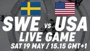 ЧМ-2018. Швеция – США. Смотреть онлайн. LIVE трансляция