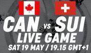 Где смотреть онлайн матч чемпионата мира Канада – Швейцария