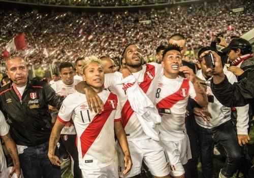 Во время гола в матче Перу - Новая Зеландия зафиксировали толчки Земли