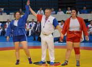 Самбо. Анастасия Сапсай стала чемпионкой Европы