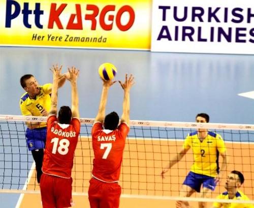 Мужская сборная Украины проиграла премьерный матч в Золотой Евролиге
