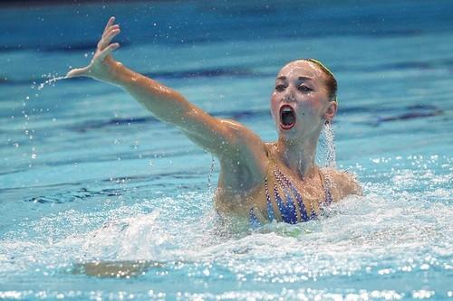 Українки здобули вісім медалей на чемпіонаті з синхронного плавання