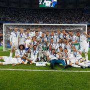Реал отмечает победу в Лиге чемпионов. LIVE