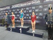 Українка здобула три золота на Гран-прі зі спортивної гімнастики