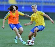 Фаны Зинченко и привоз Ордеца: сборная Украины занималась в Харькове