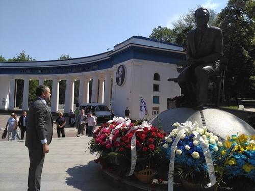 Президент ФФУ открыл XV турнир памяти Валерия Лобановского