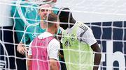 Драка между футболистами на тренировке сборной Германии