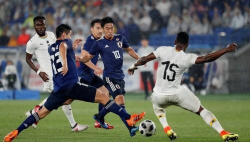 Япония – Гана – 0:2. Видео голов и обзор матча