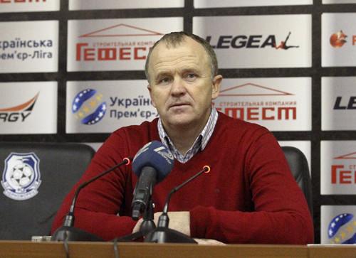 Олег ДУЛУБ: «Когда под давлением находишься, немножко другой футбол»