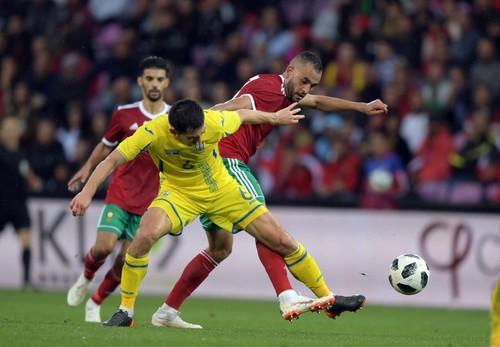 Сборные Украины и Марокко в контрольной игре мячей не забили