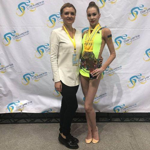 Украинка Фотиева завоевала четыре медали на турнире в Казахстане