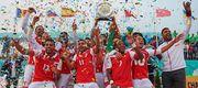 Португальская Брага выиграла Кубок европейских чемпионов