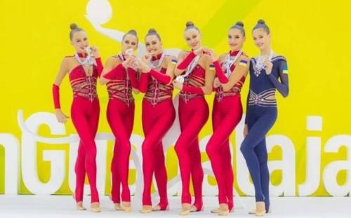 Чемпионат Европы по художественной гимнастике. Украинки взяли серебро