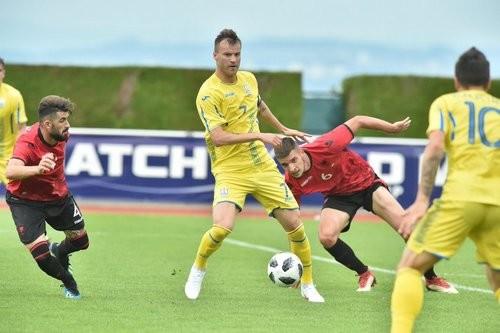 Сборная Украины провела лучший матч при Шевченко