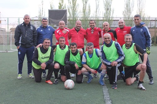 Сборная Армении продолжает подготовку к Kyiv Football Cup-2018