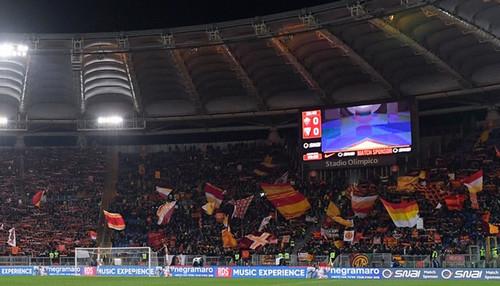 УЕФА никак не наказал Рому за флаг ДНР на матче с Шахтером