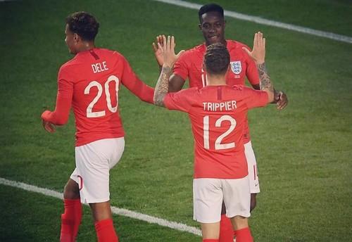 Сборная Англии обыграла Коста-Рику
