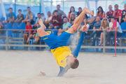 Збірна України стартує у Євролізі з пляжного футболу