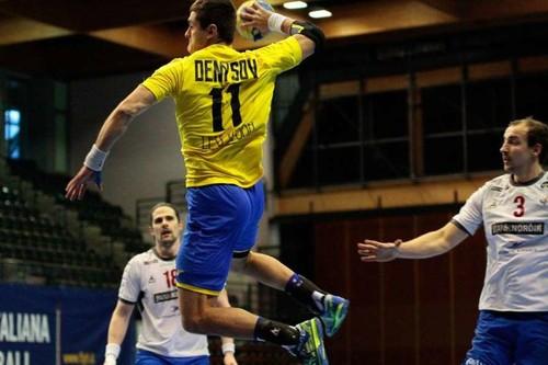 Мужская сборная Украины обыграла Латвию в первой игре турнира в Италии