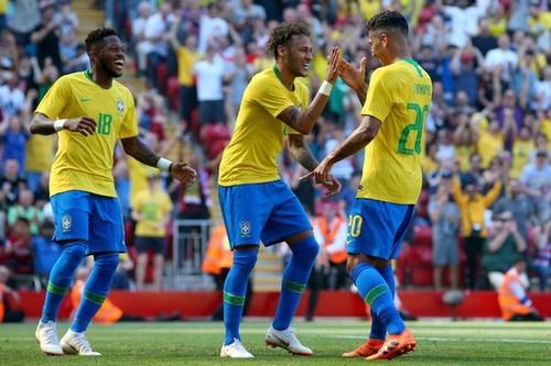 Австрия – Бразилия – 0:3. Видео голов и обзор матча