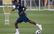 Сборная Бразилии начала первую тренировку в Сочи без Фреда