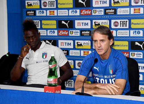 МАНЧИНИ: Балотелли имеет все, чтобы стать новым лидером сборной Италии