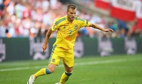Ярмоленко стал 28-м капитаном сборной Украины