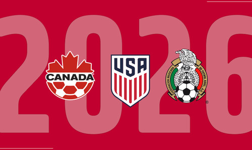 Чемпионат мира-2026 пройдет в США, Канаде и Мексике