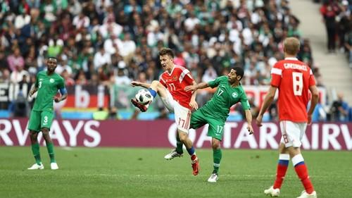 Россия разгромила Саудовскую Аравию в первом матче ЧМ